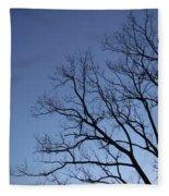 Sycamore Silhouette Fleece Blanket