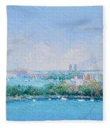 Sydney Harbour Bridge - Sydney Opera House - Sydney Harbour Fleece Blanket