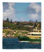 Sydney Harbour Panorama Fleece Blanket