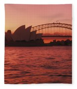 Sydney Opera House Fleece Blanket