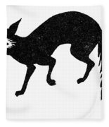 Symbol: Fox Fleece Blanket