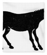 Symbol: Mule Fleece Blanket