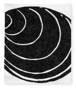Symbol: Silence Fleece Blanket