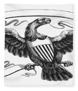 Symbols: American Eagle Fleece Blanket