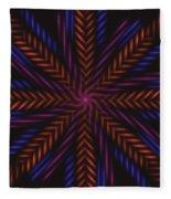 Symmetry 15 Fleece Blanket