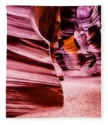 Antelope Canyon Light Fleece Blanket