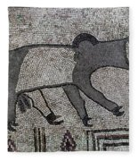 Synagogue, 6th Century Fleece Blanket