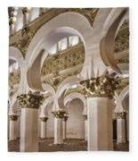 Synagogue Of St Mary The White Fleece Blanket
