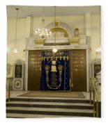 Synagogue, Thessaloniki Fleece Blanket
