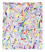 Synesthesia Fleece Blanket