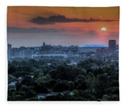 Syracuse Sunrise Fleece Blanket