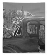T-04902 Travelling To Climb In Style 1955  Fleece Blanket