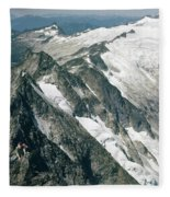 T-504406-c Walt Sellers On Torment Forbidden Traverse Fleece Blanket
