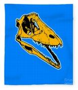 T-rex Graphic Fleece Blanket