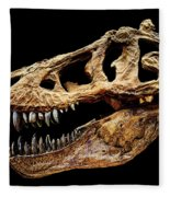T-rex Skull Fleece Blanket