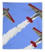 T6 Aerobatics Fleece Blanket