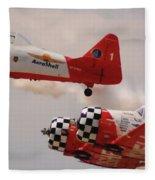 T6 Aerobatics II Fleece Blanket