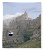 Table Mountain Cable Car Fleece Blanket