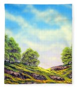 Table Mountain Fleece Blanket