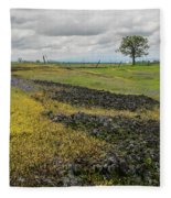 Table Mountain Landscape Fleece Blanket