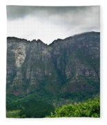 Table Mountain South Africa Fleece Blanket