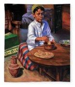 Tablia Table  Fleece Blanket