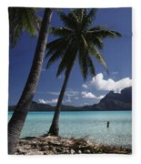 Tahiti View Fleece Blanket
