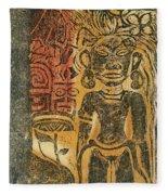 Tahitian Idol Fleece Blanket