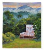 Tahlequah Ridge Morning Fleece Blanket