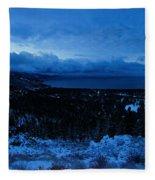 Tahoe Dawning Fleece Blanket