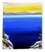 Tahoe Morning Fleece Blanket
