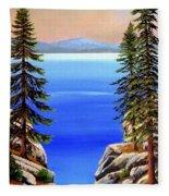 Tahoe Notch Fleece Blanket