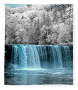Tahquamenon Falls Ir 720nm Fleece Blanket