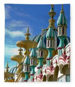 Tai Mahal Casino Atlantic City Fleece Blanket
