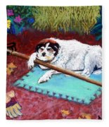 Take A Break Fleece Blanket