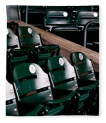 Take Me Out To The Ball Game Fleece Blanket