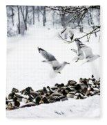 Takeoff Fleece Blanket