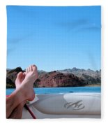 Takin It Easy Fleece Blanket