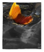 Tale Of The Wild Koi 3 Fleece Blanket