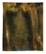 Tales From The Riverbank   V Fleece Blanket