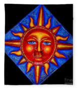 Talking Sun Fleece Blanket