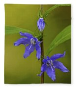 Tall Bellflower Fleece Blanket
