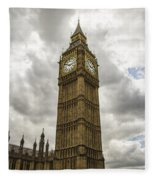 Tall Big Ben Fleece Blanket