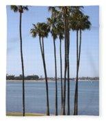 Tall Palms Fleece Blanket