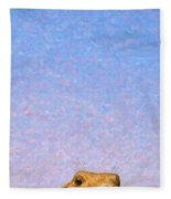 Tall Prairie Dog Fleece Blanket