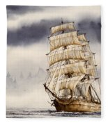 Tall Ship Adventure Fleece Blanket