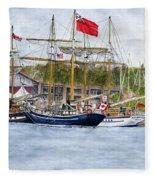 Tall Ships Festival Fleece Blanket