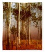 Tall Timbers Fleece Blanket