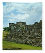 Talum Ruins 4 Fleece Blanket
