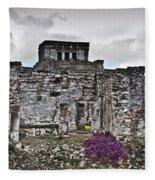 Talum Ruins 6 Fleece Blanket